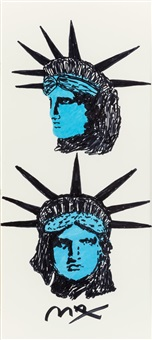 lady liberty by peter max