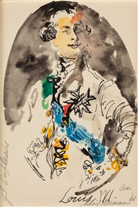 louis xvi by leroy neiman