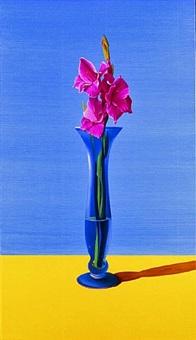 still life #221(gladiolus) by roberto azank