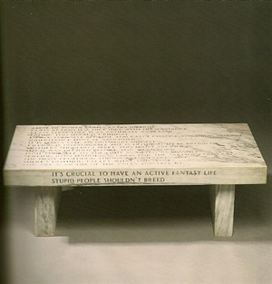 untitled (abuse of power) by jenny holzer