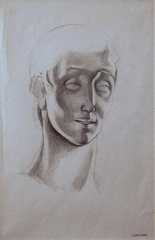 figure d'homme by tamara de lempicka