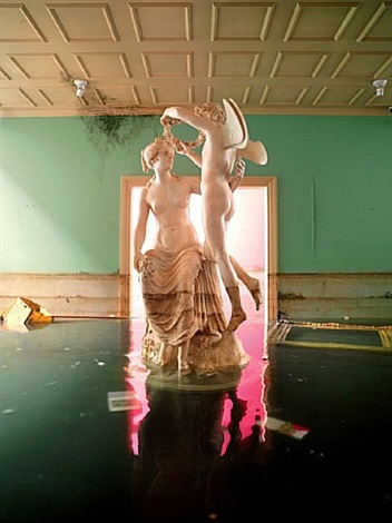 statue, los angeles by david lachapelle