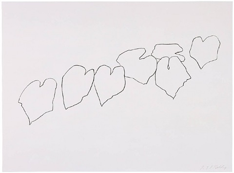 wild grape leaves i by ellsworth kelly