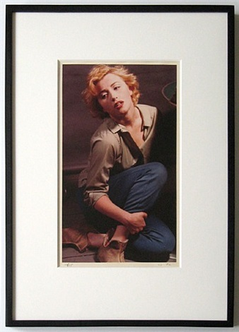 untitled (as marilyn monroe) by cindy sherman