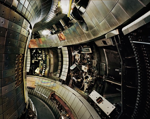 tokamak asdex upgrade interior 2, max planck ipp, garching by thomas struth
