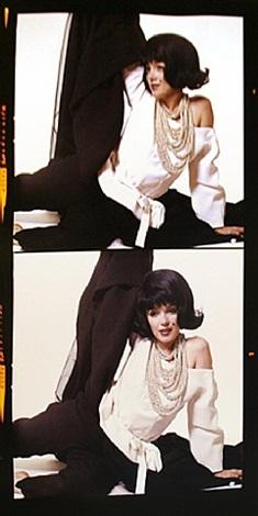 the lost sitting: marilyn monroe in jackie wig by bert stern