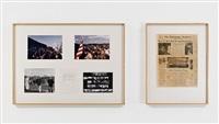 location piece #13 (washington march) by douglas huebler