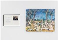 variable piece #70: 1971 (in process) global, crocodile tears: buried treasure (degas) by douglas huebler