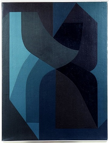 rear silour iii by victor vasarely
