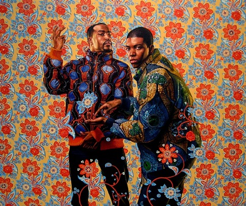 the tribute money i by kehinde wiley