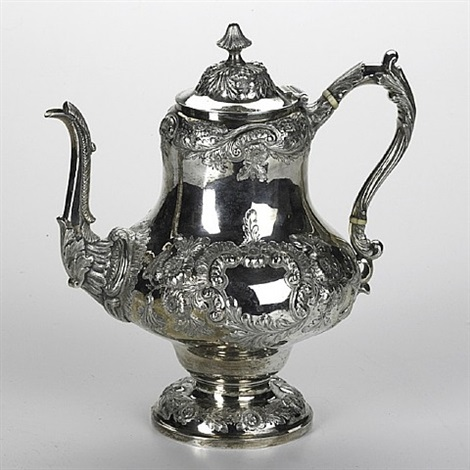 lot no. 1272: sterling coffee pot by tiffany & company