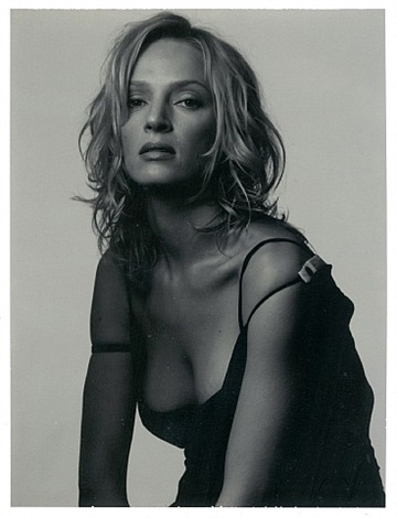 uma thurman, new york city by albert watson