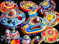 flying saucers by don jacot