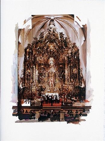 altar piece (cadaqués) by richard hamilton