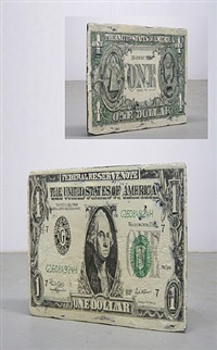 bank note (one dollar) by wang jin
