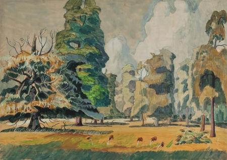summer grove by charles ephraim burchfield