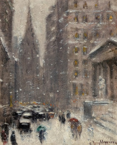 a blizzard on wall street by guy carleton wiggins