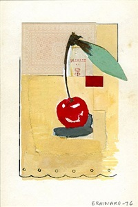 untitled (cherry) by joe brainard