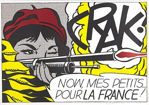 crak! by roy lichtenstein