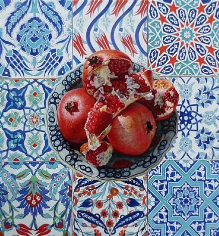 pomegranates by ismail acar