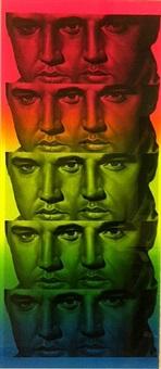 rainbow elvis ii by ron english