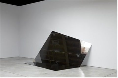 untitled (folded mirror 12) by iran do espírito santo