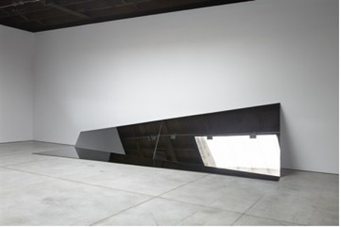 untitled (folded mirror 14) by iran do espírito santo