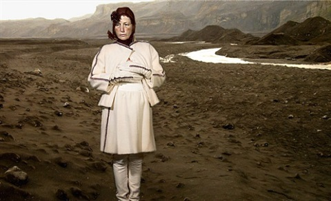 untitled (folded mirror 14) by cindy sherman
