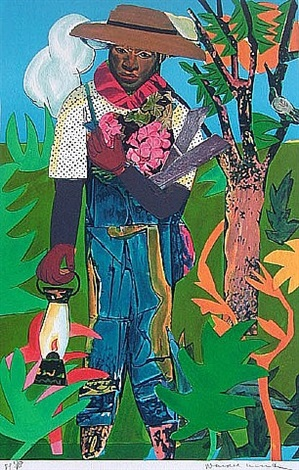 the lantern by romare bearden