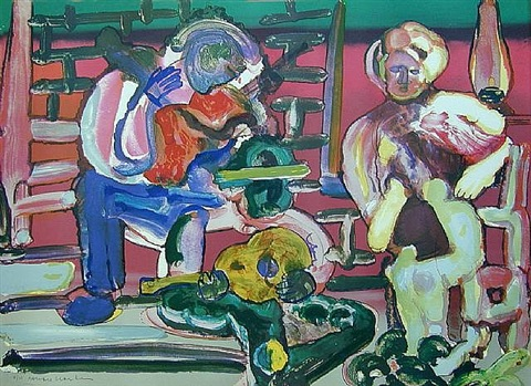 louisiana serenade by romare bearden