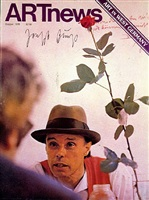artnews cover by joseph beuys