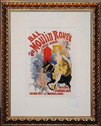 bal du moulin rouge by jules chéret