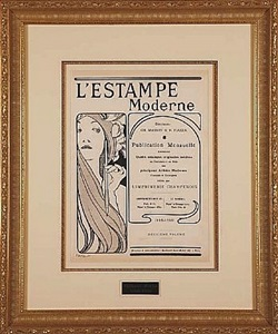 the circle of toulouse-lautrec by alphonse mucha