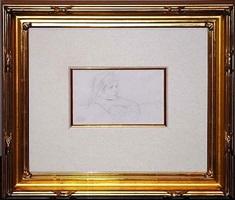 tete de fillette (head of a girl) by mary cassatt
