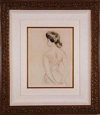 la femme du dos (woman from the back) by paul césar helleu