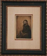 croquis de fillette by théophile alexandre steinlen
