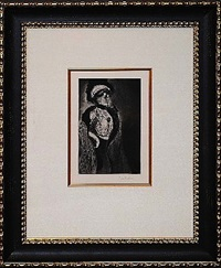 femme au boa by théophile alexandre steinlen