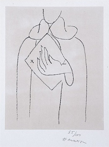 untitled, from études pour saint dominique by henri matisse