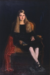 portrait of marcia ann m tucker by robert henri