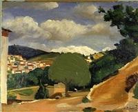 paysage en provence by andré derain