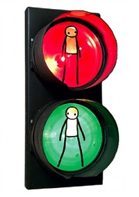traffic light by stik