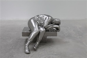 sleeping woman by charles ray