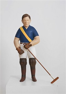 polo player by john cross