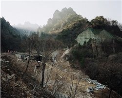 the seven brothers' hill, seorak mountains, gangwon-do by thomas struth