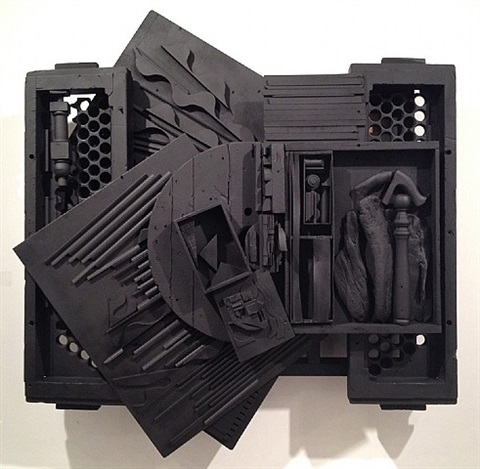mirror shadow xxxix by louise nevelson