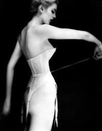 it's a cinch: carmen, lingerie by warner's by lillian bassman