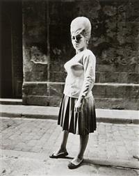 girl, barcelona by evelyn hofer