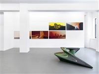 installation view by zaha hadid