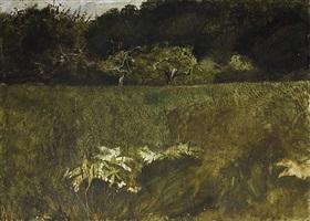 n.c. wyeth orchard by andrew wyeth