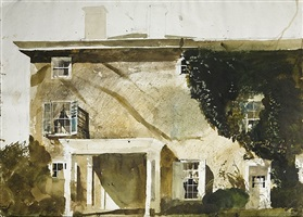 the hatton house by andrew wyeth